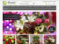 iflorist.co.uk screen shot