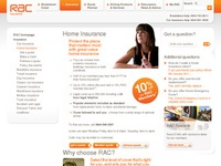 rac.co.uk get home buildings and contents quotes