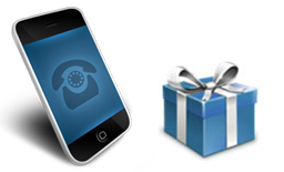 free gift contract mobiles