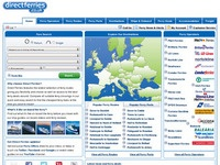 directferries.com screenshot thumbnail
