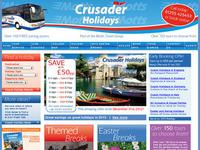 Crusader-Holidays.co.uk screen shot